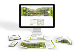 Jade Campus Folder und Website